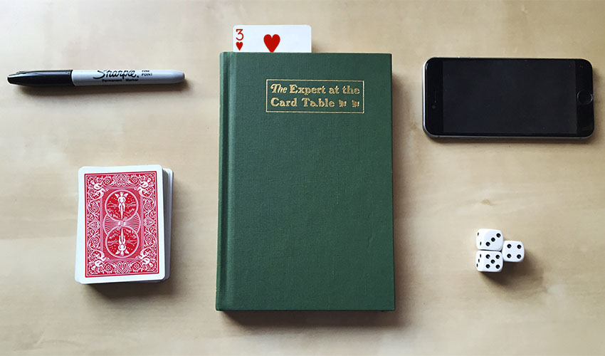 """L'expert aux cartes""  de S.W. Erdnase (1902)"